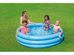 Intex piscina crystal blu cm.147x33