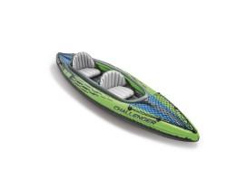 Intex kayak biposto challenger con gonfiatore e remi