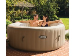 INTEX PISCINA IDROMASSAGGIO SPA BUBBLE MASSAGE CM.196X71H - 4 PERSONE