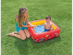 INTEX CARS PISCINA QUADRATA CM.85X85X23 H