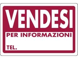 CARTELLO SEGNALETICO VENDESI  cm. 30x20