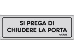 ETIC.ADES.15X5''CHIUD.LA PORTA''PZ.10