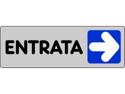 ETICHETTA ADESIVA 15x5 - ENTRATA(DX)- PEZZI 10