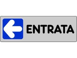 ETICHETTA ADESIVA 15x5 - ENTRATA(SX)- PEZZI 10