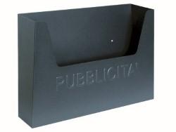 Utilia CASSETTA PER PUBBLICITÀ Col.Grigio mm.355x255x85 h