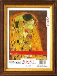 CORNICE MODELLO BRUN 21x29,7 (A4) LEGNO VERNICIATO E VETRO