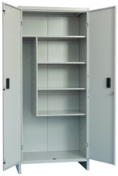 ARMADIO PORTA SCOPE COMPONIBILE 80X40X175 CM - PRATIKO