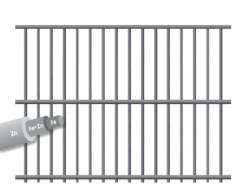 Frigerio RETE PER RECINZIONI ELET/ZINC FIRST FONDOGABBIE maglia mm.75x13 H cm.  61