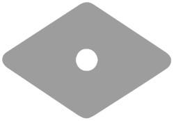 RONDELLE IN PLASTICA MM.27X27