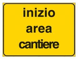 SEGNALE INIZIO AREA CANTIERE 60X4O FIG2107