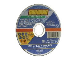 GRINDING DISCO PER FERRO E INOX DIAMETRO MM.115X1,6 (100+10 PEZZI)