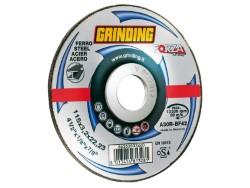 Grinding DISCO ABRASIVO CENTRO DEPRESSO FORZA per ferro Ø mm. 115x3,2x22,2
