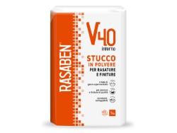 Rasaben STUCCO IN POLVERE PER INTERNI  V40 kg. 1