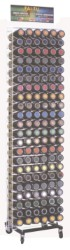 Arexons ESPOSITORE VERNICE SPRAY 132 POSTI  cm. 40x40x200 h