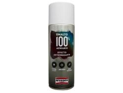 Arexons VERNICE SPRAY ML.400 SMALTO 100% ACRILICO EFFETTO ANTICHIZZANTE Grigio grafite