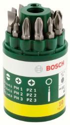 Bosch assortimento bit di avvitamento (ph + pz+ taglio) 10 pezzi