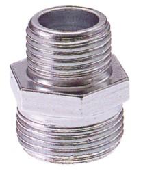 Vite doppia ridotta in acciaio zincato figura 245 mis. 3/8x1/4