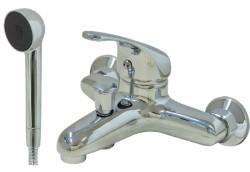 Uti miscelatore calipso vasca con doccetta