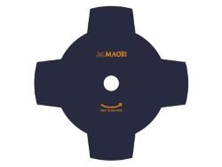 COLTELLO DISCO 4 DENTI PER DECESPUGLIATORE ACCIAIO 3D DIAMETRO 255 MM
