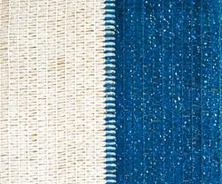 Confine RETE OMBREGGIANTE ROTOLO MT.100 Col. Bianco/Azzurro H. cm. 200