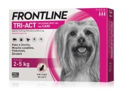 Frontline ANTIPARASSITARIO TRI-ACT  per cani 2÷5 kg (cf.3 pipette)