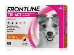 Frontline ANTIPARASSITARIO TRI-ACT  per cani 5÷10 kg (cf.3 pipette)