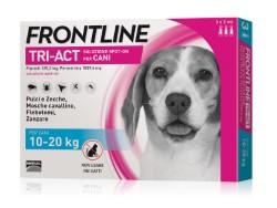 Frontline ANTIPARASSITARIO TRI-ACT  per cani 10÷20 kg (cf.3 pipette)