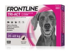 Frontline ANTIPARASSITARIO TRI-ACT  per cani 20÷40 kg (cf.3 pipette)