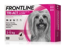 Frontline ANTIPARASSITARIO TRI-ACT  per cani 2÷5 kg (cf. 6 pipette)