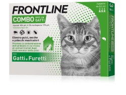 Frontline Combo ANTIPARASSITARIO COMBO  per gatti (cf. 3 pipette)