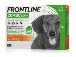 Frontline Combo ANTIPARASSITARIO COMBO  per cani 2÷10 kg (cf. 3 pipette)
