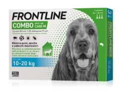 Frontline Combo ANTIPARASSITARIO COMBO  per cani 10÷20 kg (cf. 3 pipette)