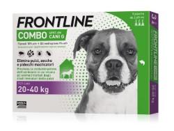 Frontline Combo ANTIPARASSITARIO COMBO  per cani 20÷40 kg (cf. 3 pipette)