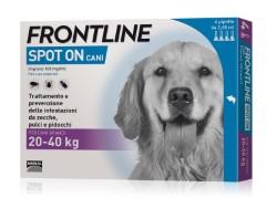 Frontline ANTIPARASSITARIO SPOT ON  per cani 20÷40 kg (cf. 4 pipette)