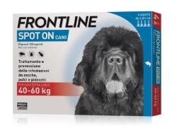 Frontline ANTIPARASSITARIO SPOT ON  per cani 40÷60 kg (cf. 4 pipette)