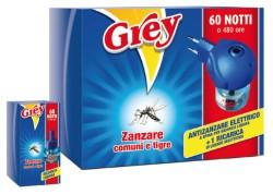 GREY ELETTROEMANATORE LIQUIDO + RICARICA 60 NOTTI