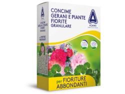 ADAMA CONCIME GERANI E PIANTE FIORITE GRANULARE KG.1