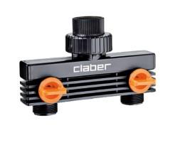 CLABER PRESA A 2 VIE 3/4