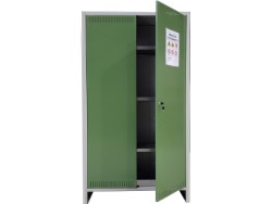 ARMADIO PER FITOFARMACI  cm.100x40x179,5 h COMPONIBILE