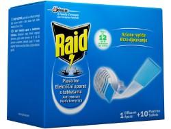 RAID ANTIZANZARE FORNELLETTO + 10 PIASTRINE