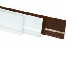 PARAFREDDO FLESSIBILE IN PVC CON FELTRO  cm. 100 - Bianco