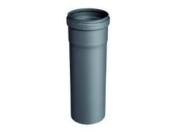 Tubo per stufa pellet 8x100 nero opaco