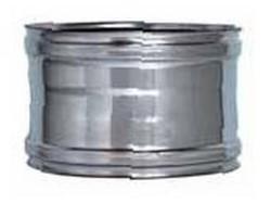 Invertitore tubi stufa femmina-femmina diametro 8 - inox aisi 316l