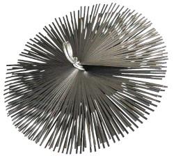 Spazzacamino tondo diametro 200 mm - senza asta